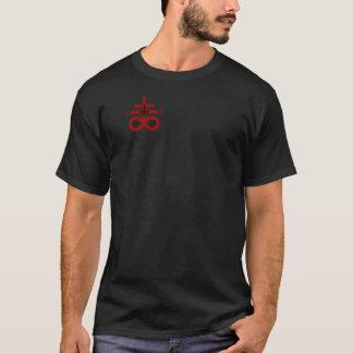 T-shirt Pièce en t de l'obscurité 666