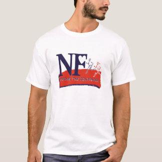 T-shirt Pièce en t de logo de marathon de N-F