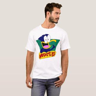 T-shirt Pièce en t de logo de Marcus
