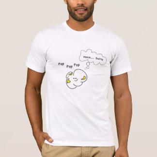 T-shirt Pièce en t de maïs éclaté