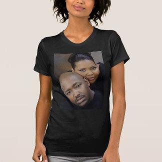T-shirt Pièce en t de mariage de Dwayne et d'Andrea