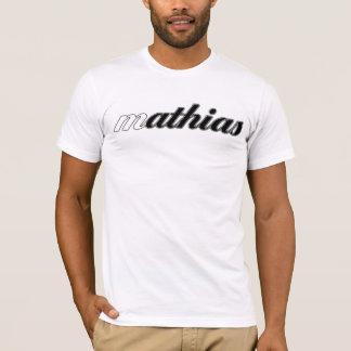 T-shirt Pièce en t de Mathias, calorie blanche ! -