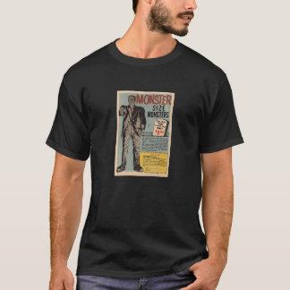 T-shirt Pièce en t de monstres de taille de monstre