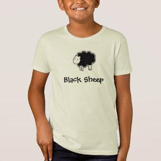 T-Shirt Pièce en t de moutons noirs