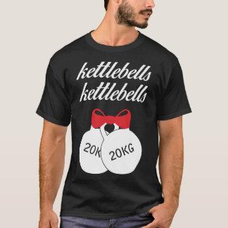 T-shirt Pièce en t de Noël de Kettlebells Kettlebells
