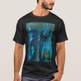 """T-shirt Pièce en t de """"nuit"""" (acrylique)"""
