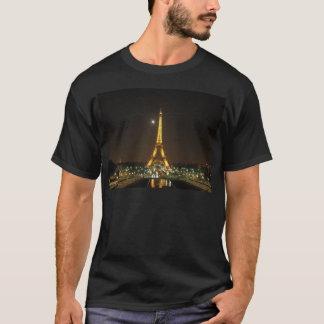 T-shirt Pièce en t de nuit de Tour Eiffel @