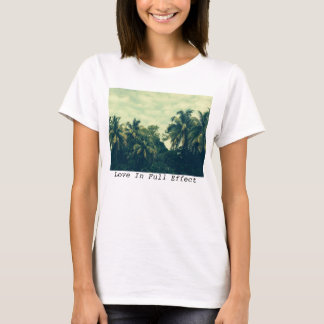 T-shirt Pièce en t de palmiers