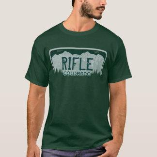 T-shirt Pièce en t de plaque minéralogique de types du