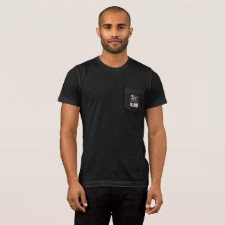 T-shirt Pièce en t de poche de loup d'hiver