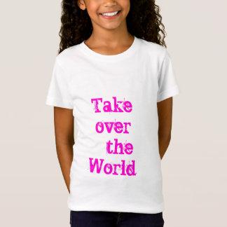 T-Shirt pièce en t de prise de contrôle de childs