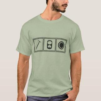 T-shirt Pièce en t de Pulltab Bottlecap de clou