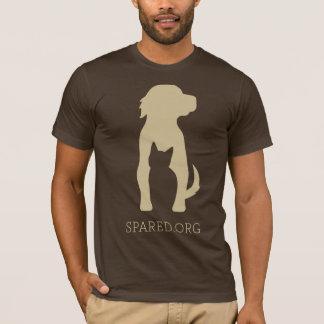 T-shirt Pièce en t DE RECHANGE de logo - bronzez sur le