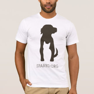 T-shirt Pièce en t DE RECHANGE de logo - brun