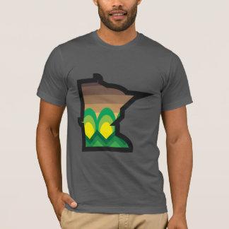 T-shirt Pièce en t de récolte d'automne de manganèse