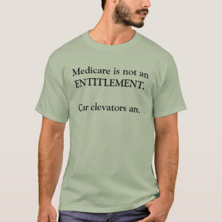 T-shirt Pièce en t de réforme d'Assurance-maladie