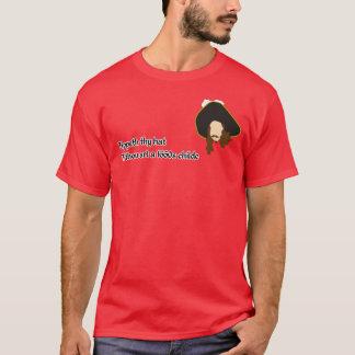 T-shirt Pièce en t de restauration