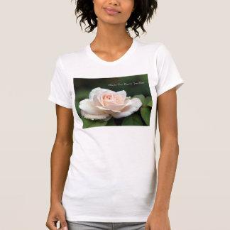 T-shirt Pièce en t de rose de thé de Marie Van Houtte