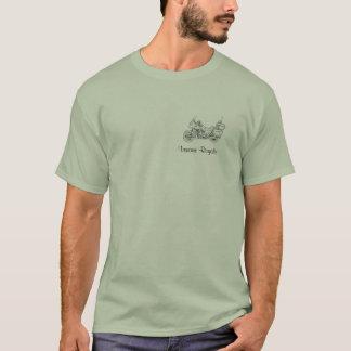 T-shirt Pièce en t de Royale d'entreprise de Yamaha