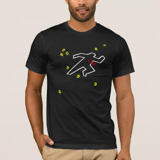 T-shirt Pièce en t de scène du crime