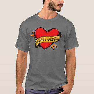 """T-shirt Pièce en t de tatouage """"de femme méchante"""" de"""