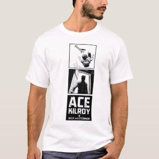 T-shirt Pièce en t de verticale de Kilroy d'as