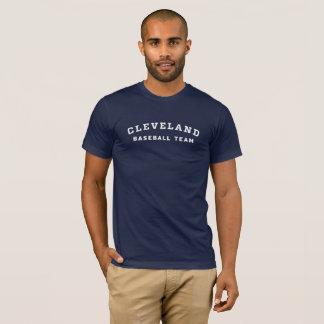 T-shirt Pièce en t d'équipe de baseball de Cleveland