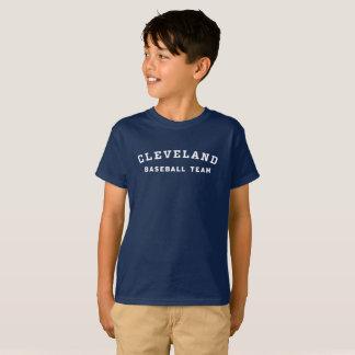 T-shirt Pièce en t d'équipe de baseball de Cleveland de