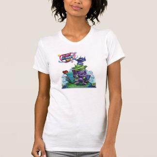 T-shirt Pièce en t d'équipe de développement de planète de