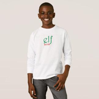 T-shirt Pièce en t des textes d'Elf de Joyeux Noël de