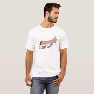 T-shirt Pièce en t désarmée