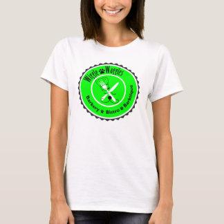 T-shirt Pièce en t d'insigne de chef du chienchien des
