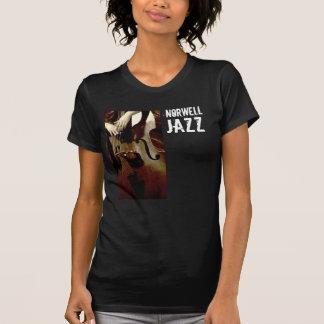 T-shirt Pièce en t d'obscurité de jazz de NHS des dames