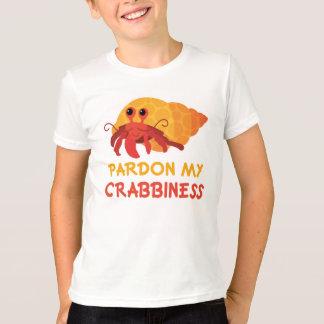 T-shirt Pièce en t drôle de bernard l'ermite de bande