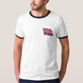T-shirt Pièce en t d'Union Jack d'arc-en-ciel