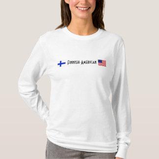 T-shirt Pièce en t Finlandais-Américaine