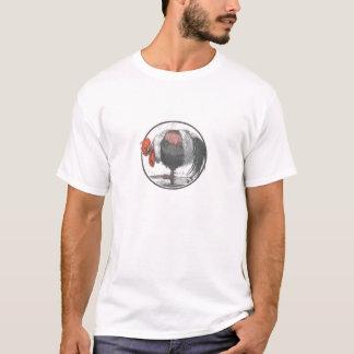 T-shirt Pièce en t fraîche avec le grand coq