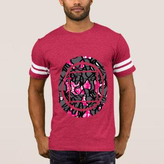 T-shirt Pièce en t géométrique de graphique d'impression