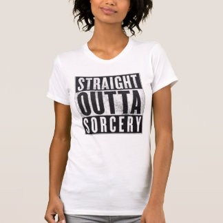 T-shirt Pièce en t graphique occulte de sorcellerie droite