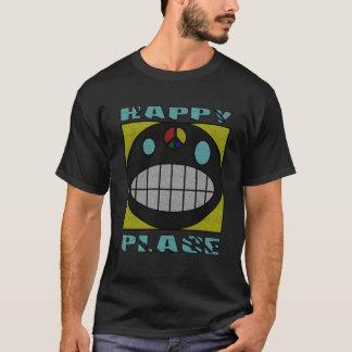 T-shirt Pièce en t grunge d'art d'aerographe d'endroit