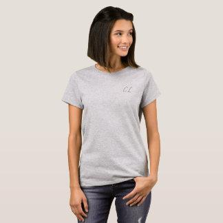 T-shirt Pièce en t initiale simple