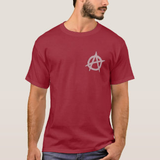 T-shirt Pièce en t mauvaise d'état