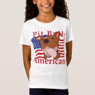 T-Shirt Pièce en t maximum d'Américain de pitbull