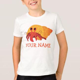 T-shirt Pièce en t mignonne de bernard l'ermite de bande