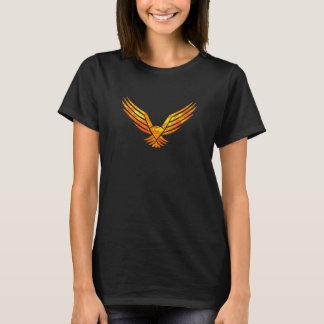 T-shirt Pièce en t noire de Phoenix des femmes