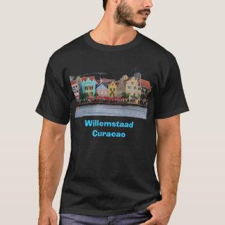 T-shirt Pièce en t noire de Willemstaad Curaçao