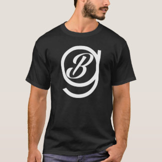 T-shirt Pièce en t noire standard de la BG d'invité de