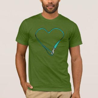 T-shirt Pièce en t olive de logo d'InstaDogWalk
