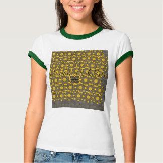 T-shirt Pièce en t olive de sonnerie d'Or-armure