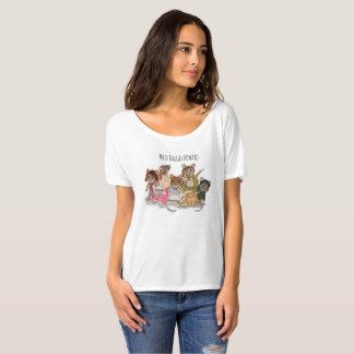 T-shirt Pièce en t Slouchy d'ami de Dallas Howard de